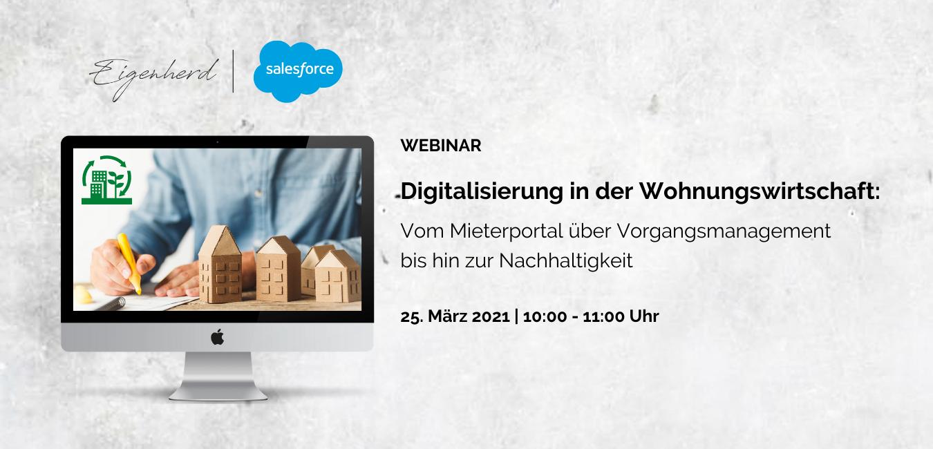 Digitalisierung in der Wohnungswirtschaft_Webinar