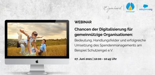 Webinar Chancen der Digitalisierung für gemeinnützige Organisationen 07062021